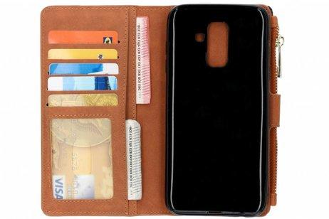 Samsung Galaxy A6 Plus (2018) hoesje - Luxe Portemonnee voor Samsung