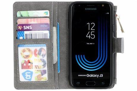 Samsung Galaxy J3 (2017) hoesje - Luxe Portemonnee voor Samsung
