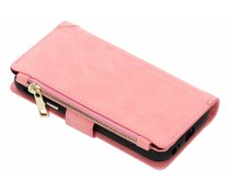 Roze luxe portemonnee hoes Samsung Galaxy J3 (2017)