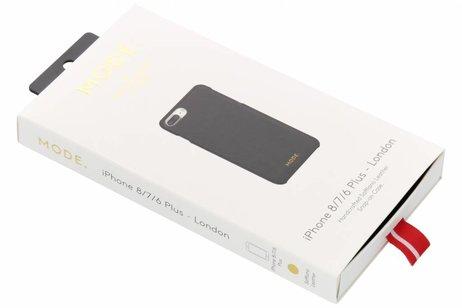 dbramante1928 London Snap-On Backcover voor iPhone 8 Plus / 7 Plus / 6(s) Plus - Zwart