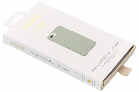 dbramante1928 London Snap-On Backcover voor iPhone 8 Plus / 7 Plus / 6(s) Plus - Mintgroen