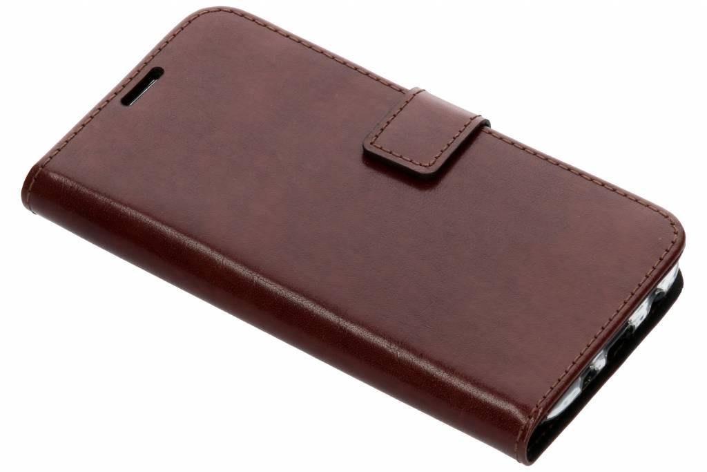 Valenta Bruine Booklet Leather voor de Samsung Galaxy J5 (2017)