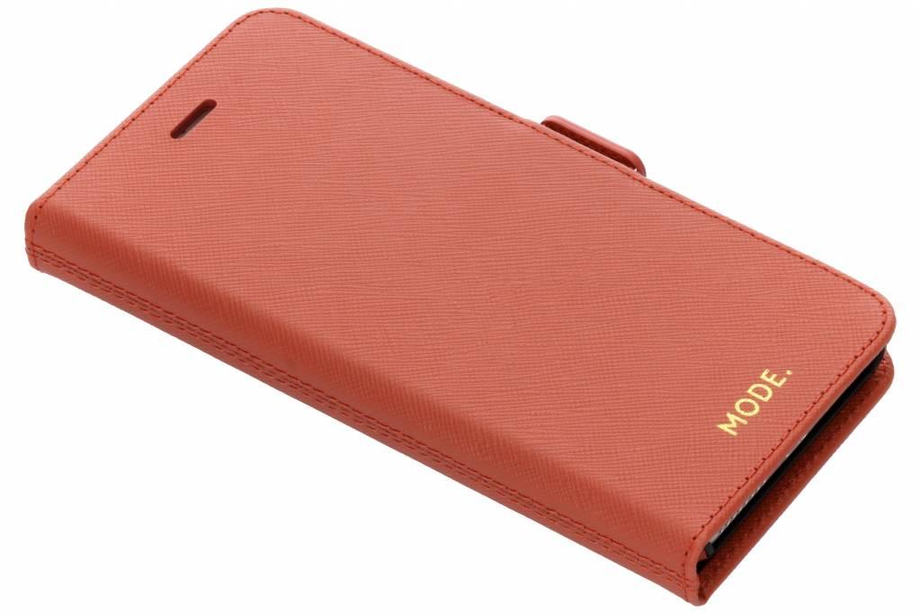 Koperkleurige New York Leather 2-in-1 Wallet Case iPhone 8 Plus / 7 Plus / 6(s) Plus