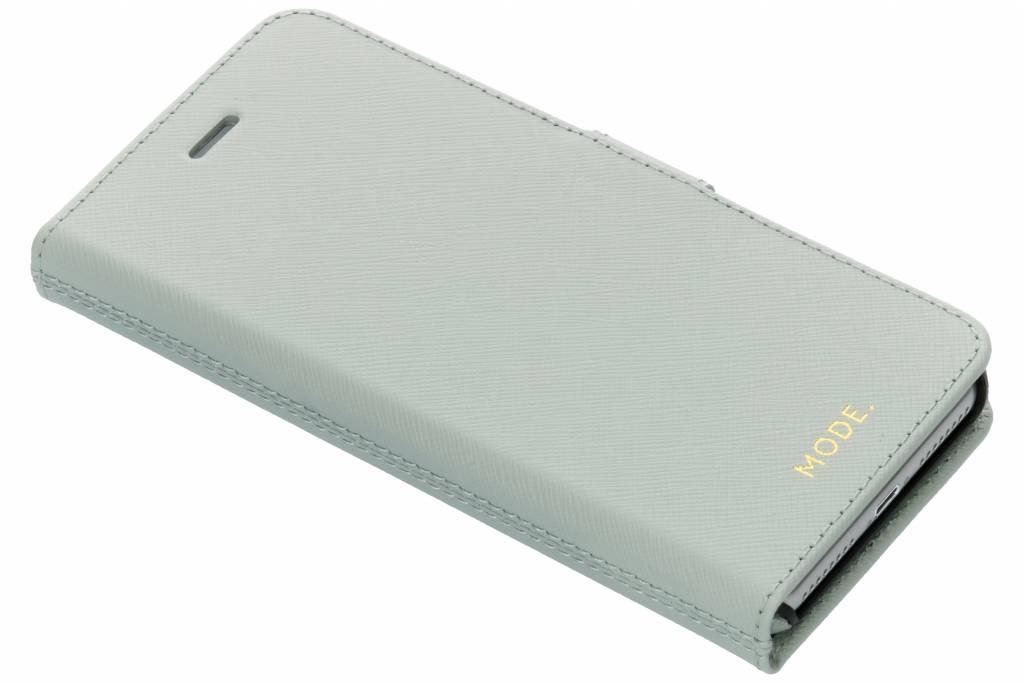 Mintgroene New York Leather 2-in-1 Wallet Case iPhone 8 Plus / 7 Plus / 6(s) Plus