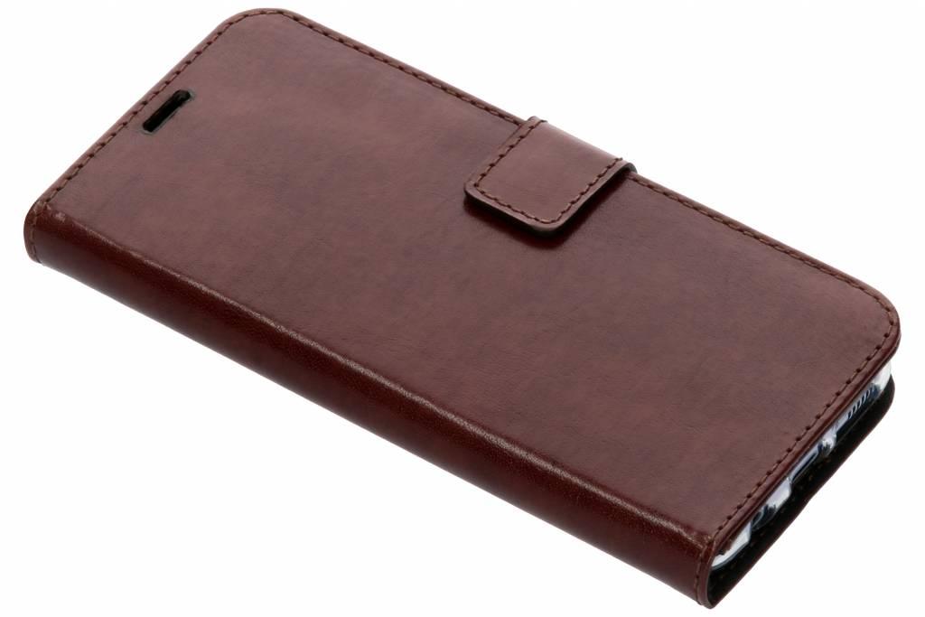 Valenta Bruine Booklet Leather voor de Samsung Galaxy S8