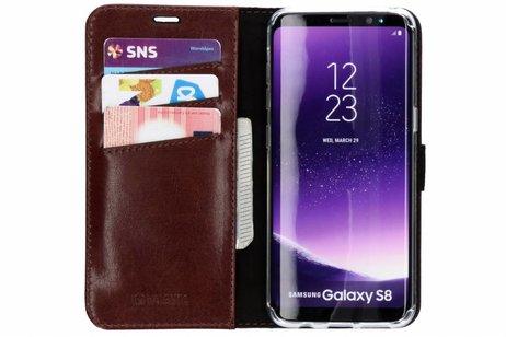 Samsung Galaxy S8 hoesje - Valenta Leather Booktype voor