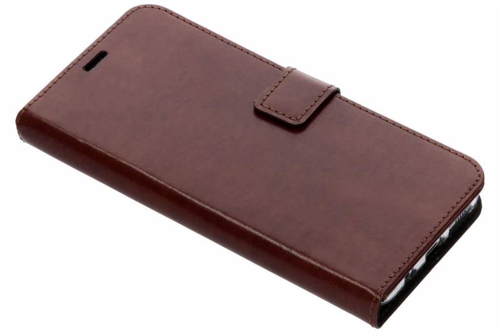 Valenta Bruine Booklet Leather voor de Samsung Galaxy S8 Plus