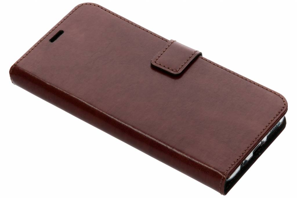 Valenta Leather Booktype voor Samsung Galaxy S8 Plus - Bruin