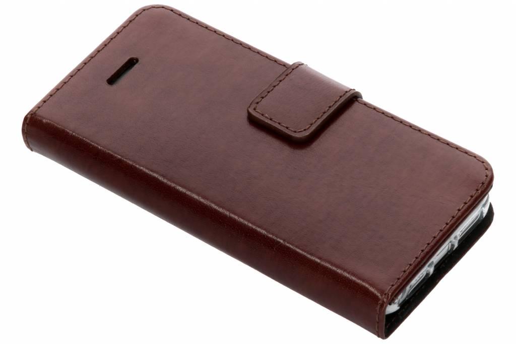 Valenta Bruine Booklet Leather voor de iPhone 5 / 5s / SE