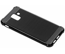 Zwart Xtreme siliconen hoesje Samsung Galaxy A6 (2018)