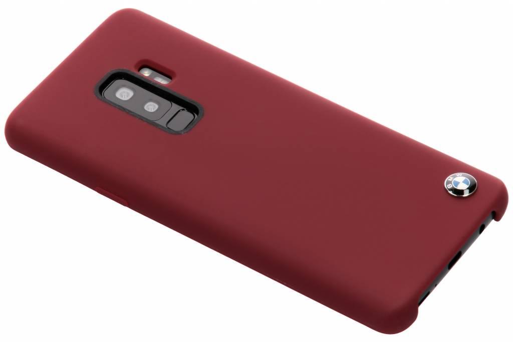 Rode Silicone Hard Case voor de Samsung Galaxy S9 Plus