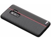 BMW Zwart / Rood M Line Carbon Hard Case Samsung Galaxy S9 Plus