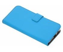 Selencia Blauw Luxe TPU Book Case Samsung Galaxy J6