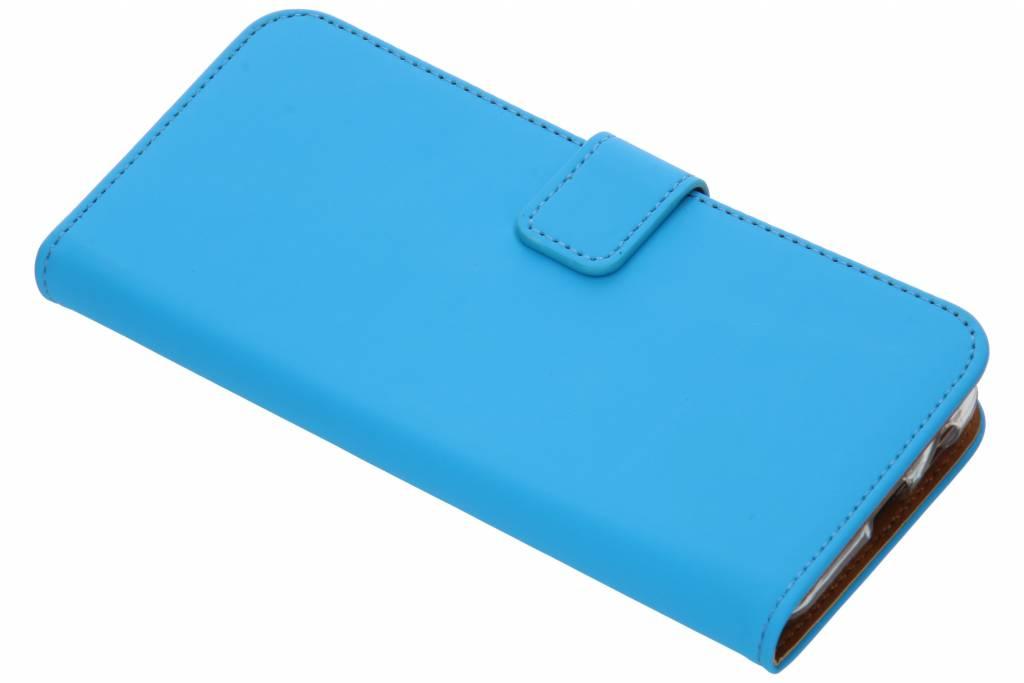 Selencia Blauwe Luxe TPU Book Case voor de Samsung Galaxy J6