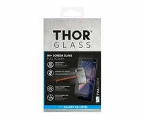 THOR Zwart 9H+ Full Screen Glass ScreenProtector Galaxy A6 (2018)