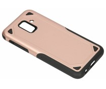 Rosé Goud Rugged hardcase hoesje Samsung Galaxy A6 (2018)