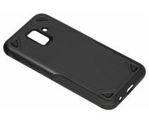 Zwart Rugged hardcase hoesje Samsung Galaxy A6 (2018)