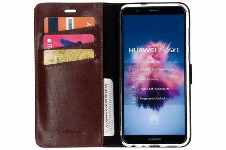 Huawei P Smart hoesje - Valenta Leather Booktype voor