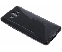 Zwart S-line TPU hoesje Huawei Mate 10 Pro