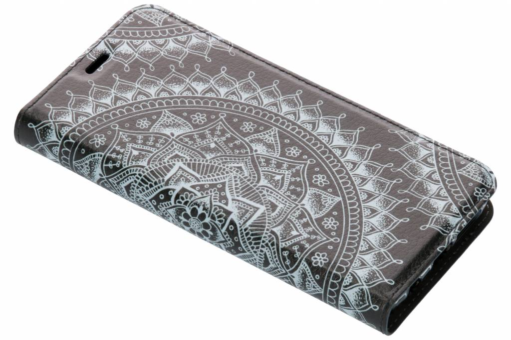 Mandala Design TPU Bookcase voor de Samsung Galaxy S9