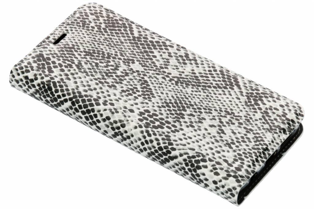 Slangen Design TPU Bookcase voor de Samsung Galaxy S9