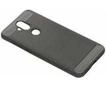 Grijs Brushed TPU case Asus ZenFone 5 Lite
