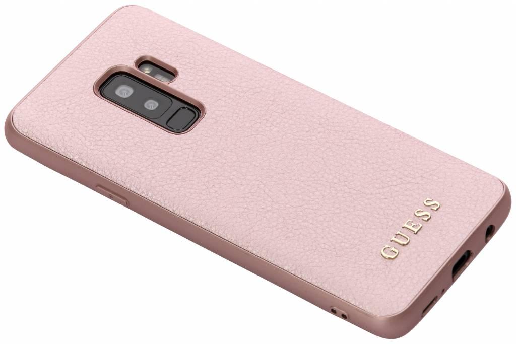 Rosé Gouden iriDescent Hardcase voor de Samsung Galaxy S9 Plus