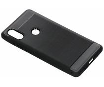 Zwart Brushed TPU case Xiaomi Mi Mix 2s