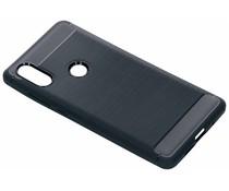 Donkerblauw Brushed TPU case Xiaomi Mi Mix 2s