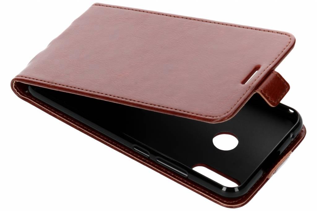 Lederen Flipcase voor Asus ZenFone 5 / 5Z - Bruin