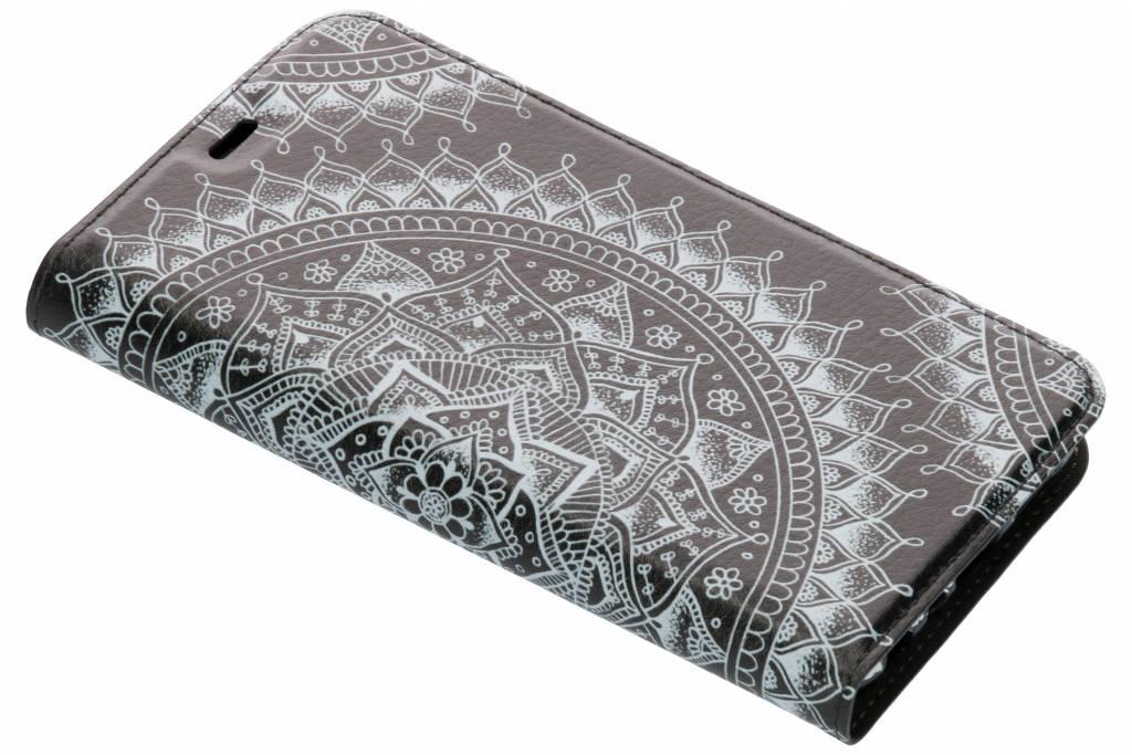 Mandala Design TPU Bookcase voor de Huawei P Smart