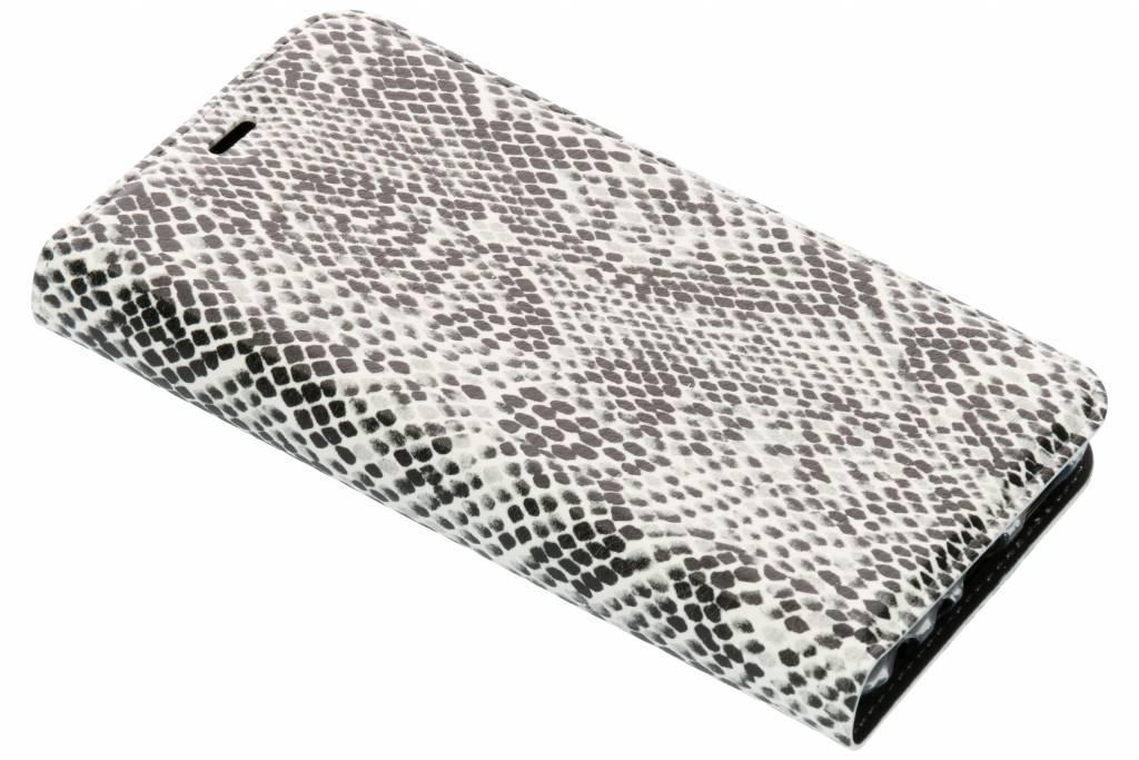 Slangen Design TPU Bookcase voor de Huawei P Smart