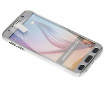 Zilver 360° effen protect case Galaxy S6