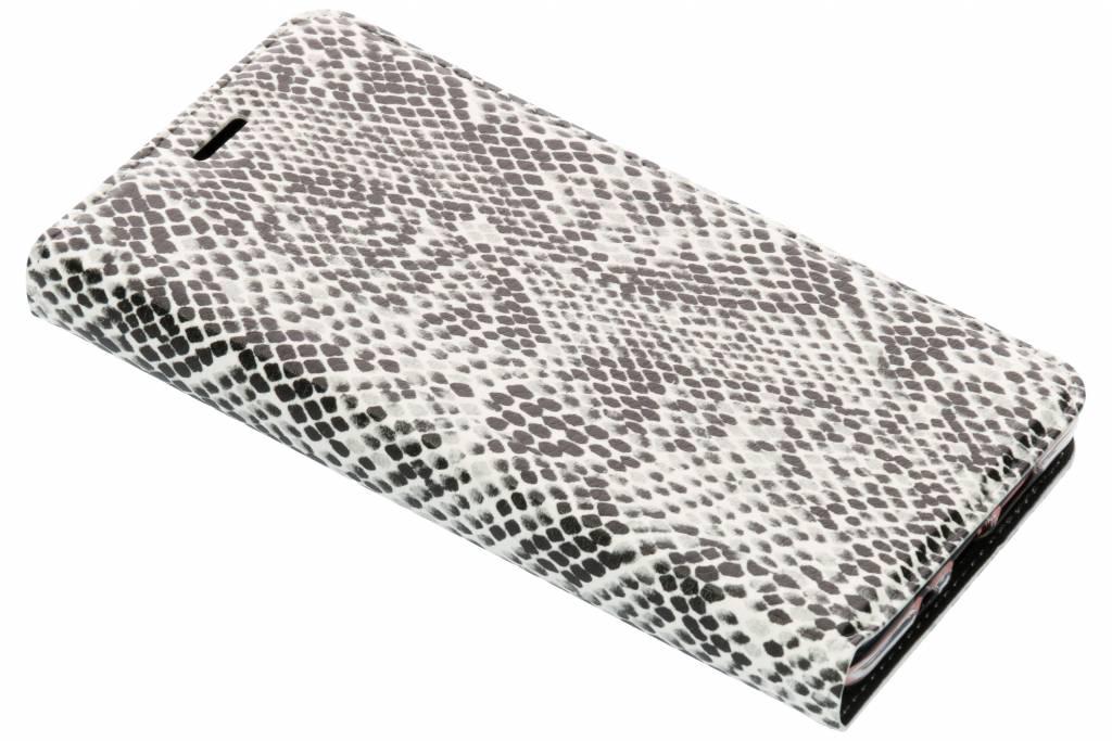 Slangen Design TPU Bookcase voor de Nokia 7 Plus
