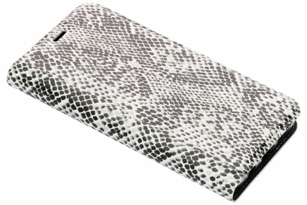 Slangen Design TPU Bookcase voor de Samsung Galaxy S9 Plus