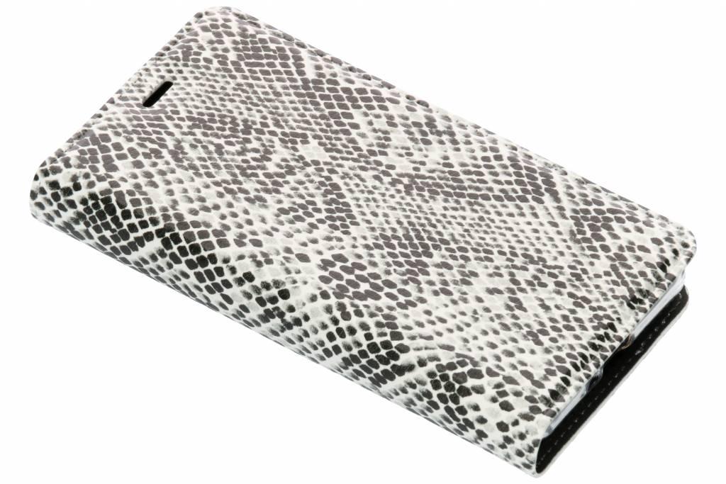 Slangen Design TPU Bookcase voor de Sony Xperia XZ2 Compact
