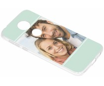 Ontwerp uw eigen Motorola Moto E5 Plus gel hoesje