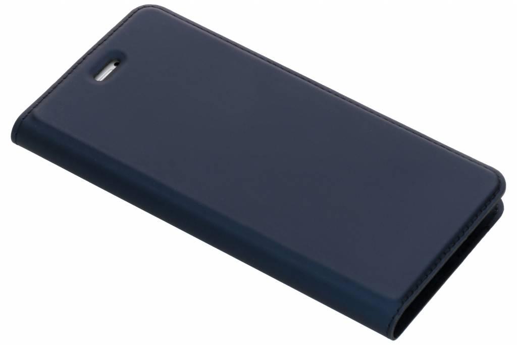 Dux Ducis Slim Softcase Booktype voor Honor 9 Lite - Donkerblauw