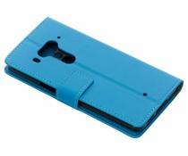 Blauw TPU Bookcase HTC U12 Plus