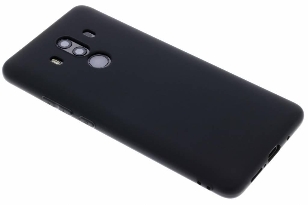 Color Backcover voor Huawei Mate 10 Pro - Zwart