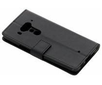 Zwart TPU Bookcase HTC U12 Plus