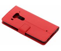 Rood TPU Bookcase HTC U12 Plus