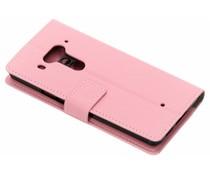 Roze TPU Bookcase HTC U12 Plus