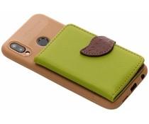 Groen blad design TPU hoesje Huawei P20 Lite