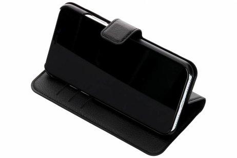 Be Hello Wallet Booktype voor iPhone X / Xs - Zwart