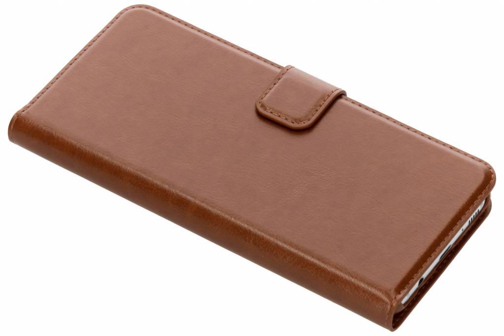 Be Hello Wallet Booktype voor Samsung Galaxy S8 Plus - Bruin