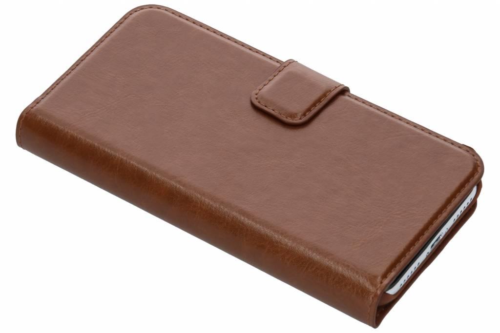 Be Hello Bruine Wallet Case voor de iPhone Xs / X