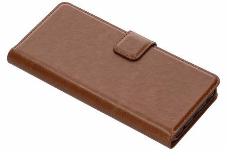 Be Hello Wallet Booktype voor Samsung Galaxy S8 - Bruin