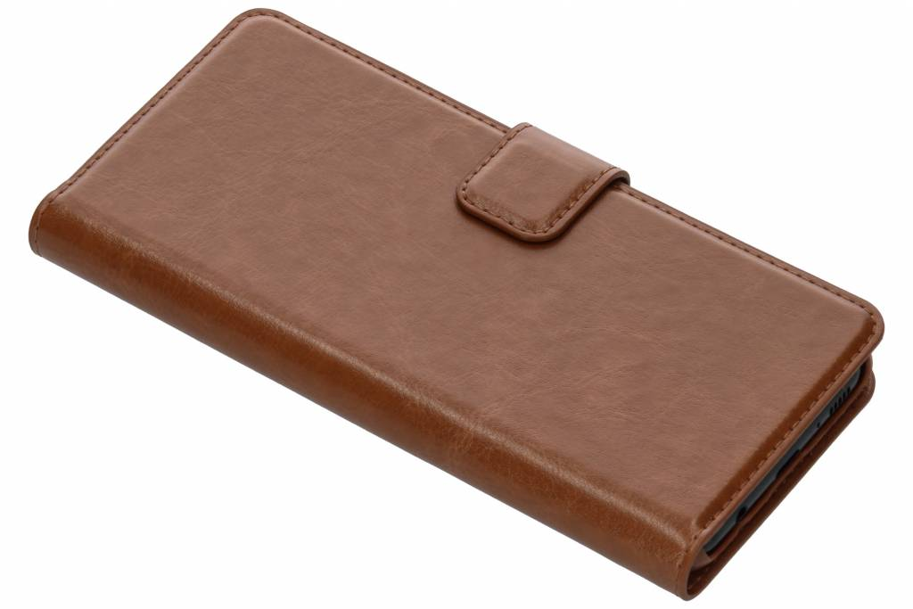 Be Hello Bruine Wallet Case voor de Samsung Galaxy S8
