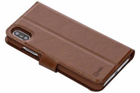 Be Hello 2 in 1 Wallet Case voor iPhone X / Xs - Bruin